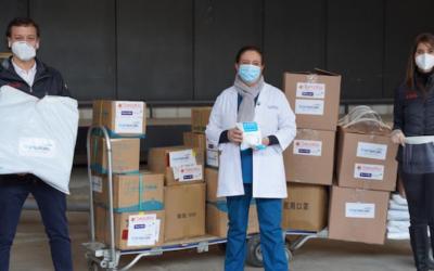 Transelec entregó 1.500 set de protección para funcionarios de salud en Hospital Félix Bulnes
