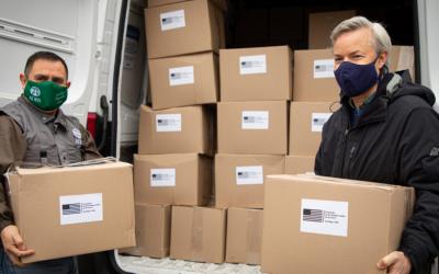 Gobierno de EE.UU.entregaaChilemás de 750 mil dólares en donaciones para ayudar antela pandemia