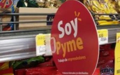"""Walmart Chile lanza sello """"Soy Pyme"""" en todos los supermercados del país"""
