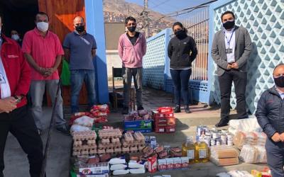 Grupo Komatsu Cummins Chile dona más de 26.000 almuerzos a comunidades afectadas por COVID-19