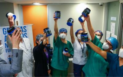Coca-Cola apoya hospitales de Chile: San Borja Arriarán recibió 10.000 litros de Powerade